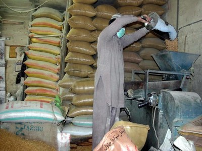 Hammad Azhar blames Sindh govt for high rates of flour in province
