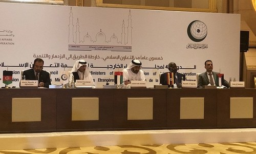 OIC decides to hold the 2021 CFM Session in Pakistan