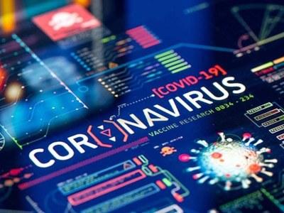 Coronavirus toll at 1100 GMT Monday