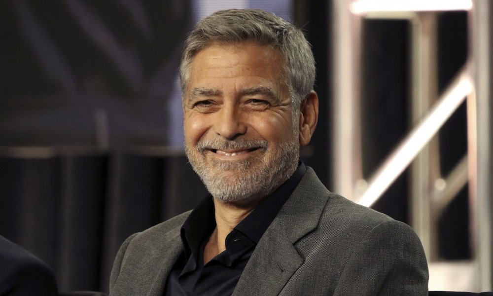 We finally know the secret to George Clooney's hair