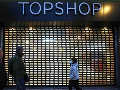 Collapse of two UK retailers puts 25,000 jobs at risk