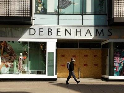 UK department store Debenhams to shut as rescue talks fail