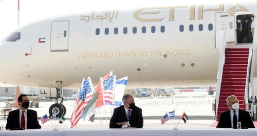 Saudi Arabia agrees to allow Israeli commercial planes to cross its airspace: senior Trump official