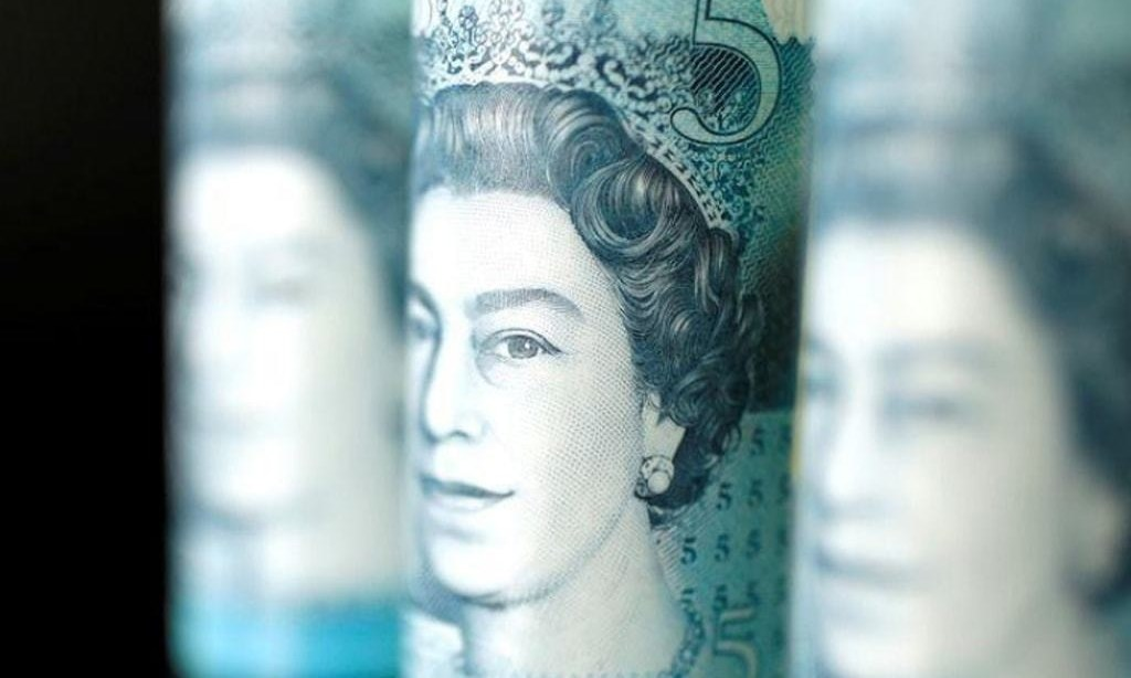 Sterling holds above $1.34 but derivatives signal Brexit unease