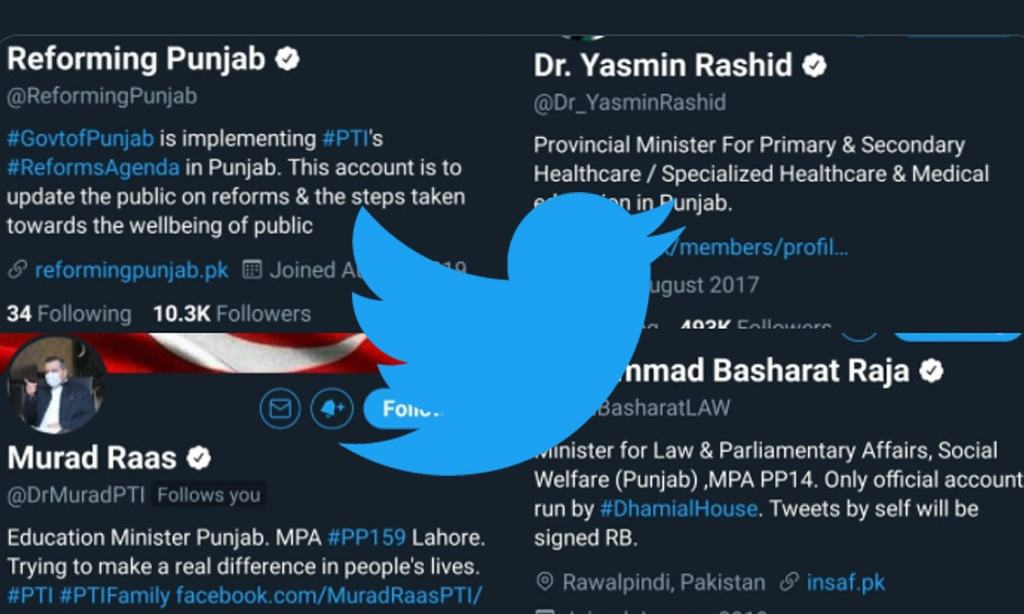 After federal, Govt of Punjab officials get verified twitter accounts