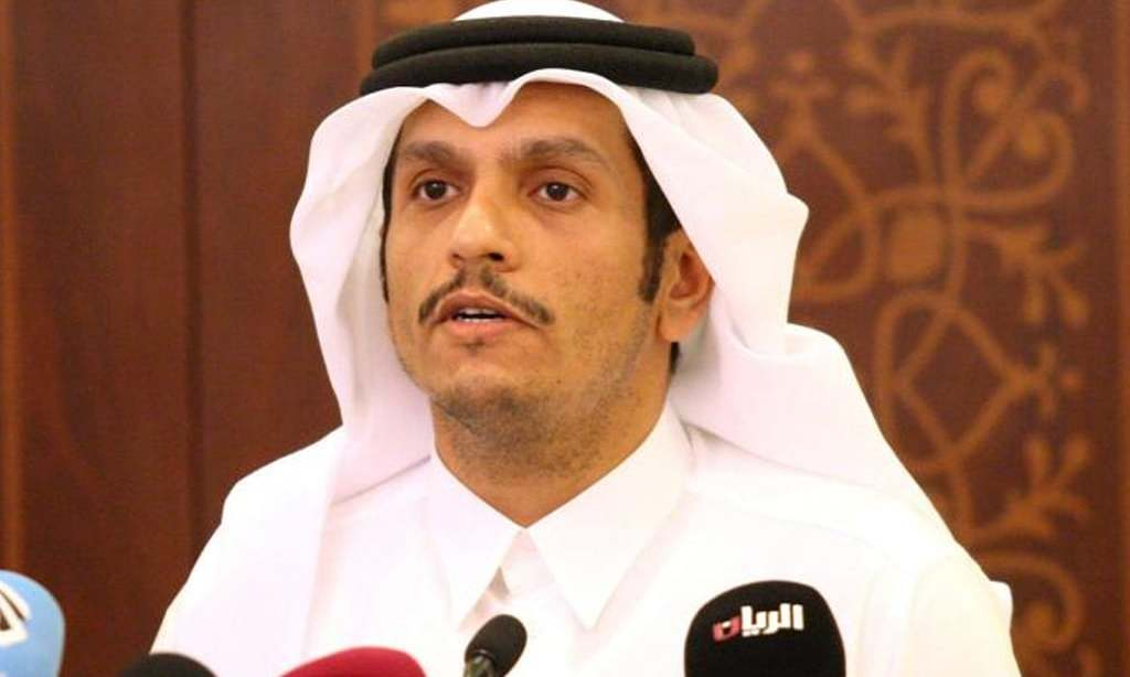 Qatar foreign minister says there has been movement on resolving Gulf dispute