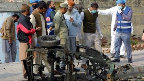 Four injured in Rawalpindi blast