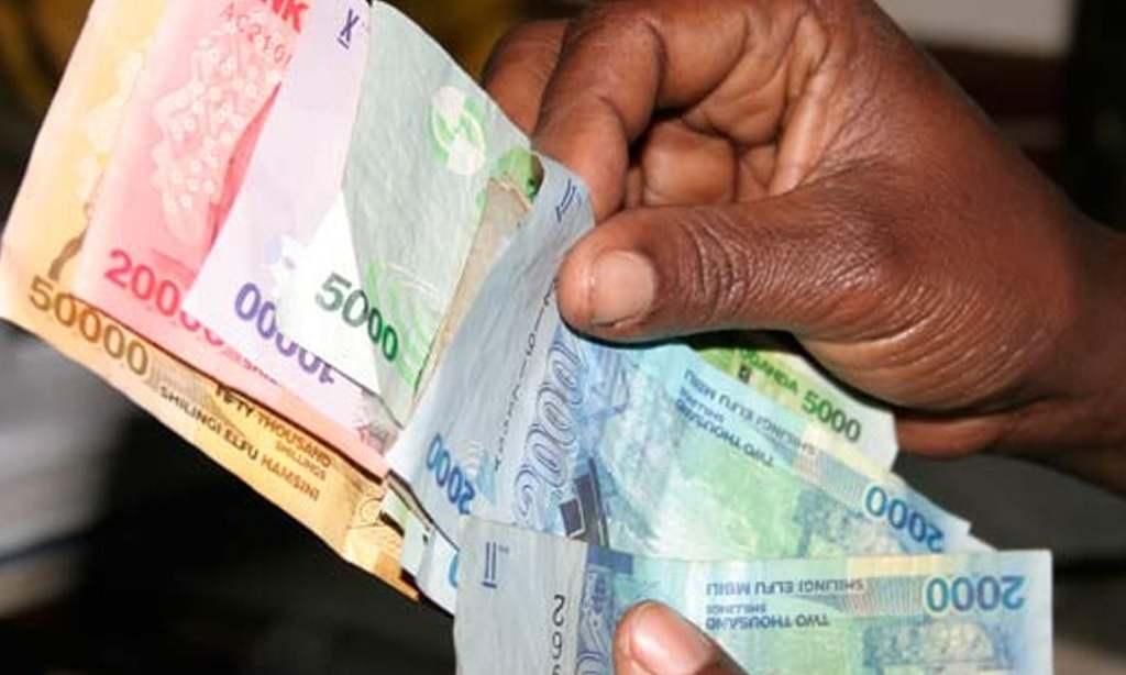 Ugandan shilling a notch firmer on ebbing demand