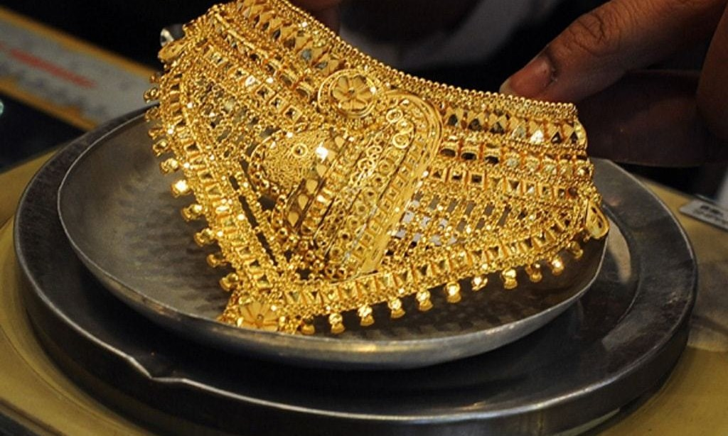 Gold price declines Rs300 to Rs110,300 per tola
