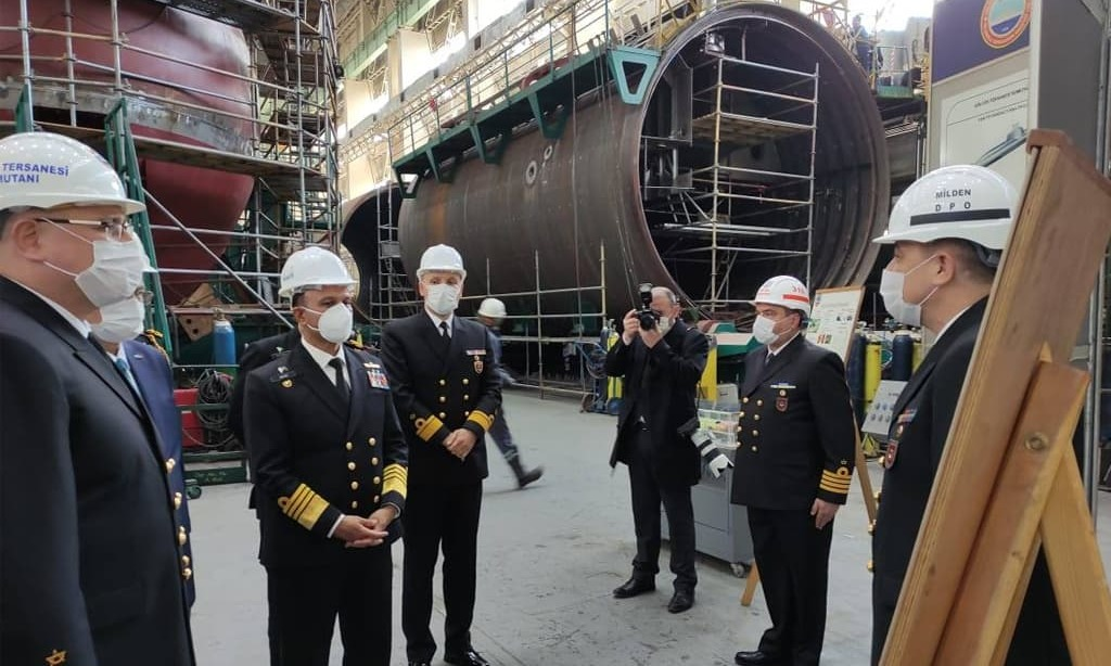 Naval Chief visits Turkish Naval Shipyards