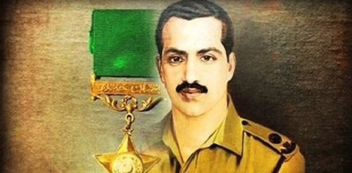 49th martyrdom anniversary: Homage paid to Major Shabbir Sharif