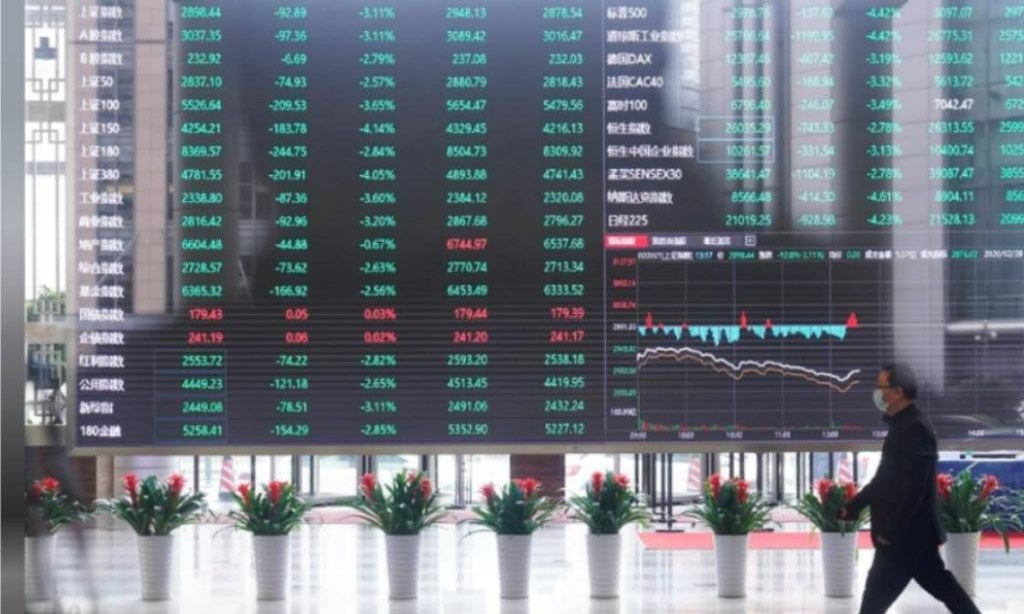 Asian shares slip from all-time highs; oil falls on virus case surge