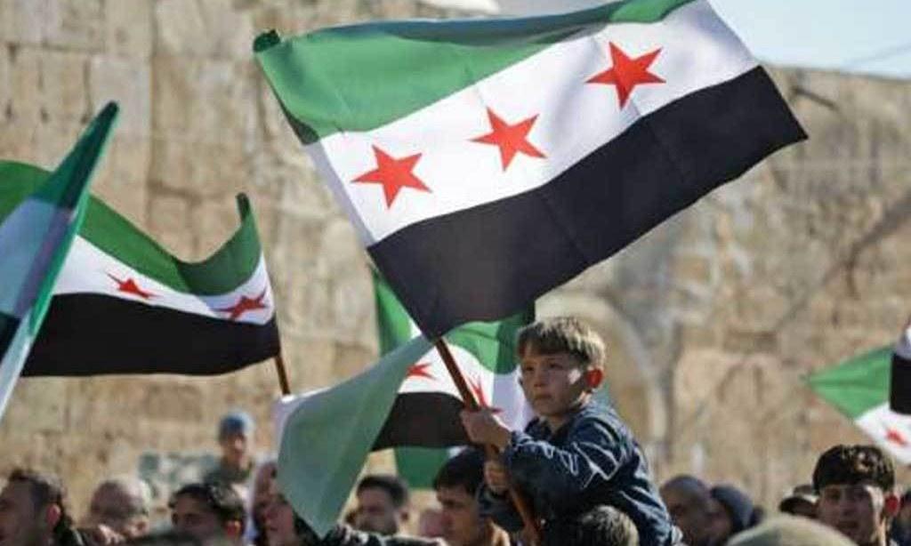 Arab uprisings breathe life into independence-era flags