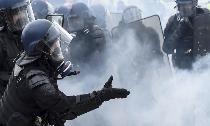 Hong Kong police make national security arrests over campus protest