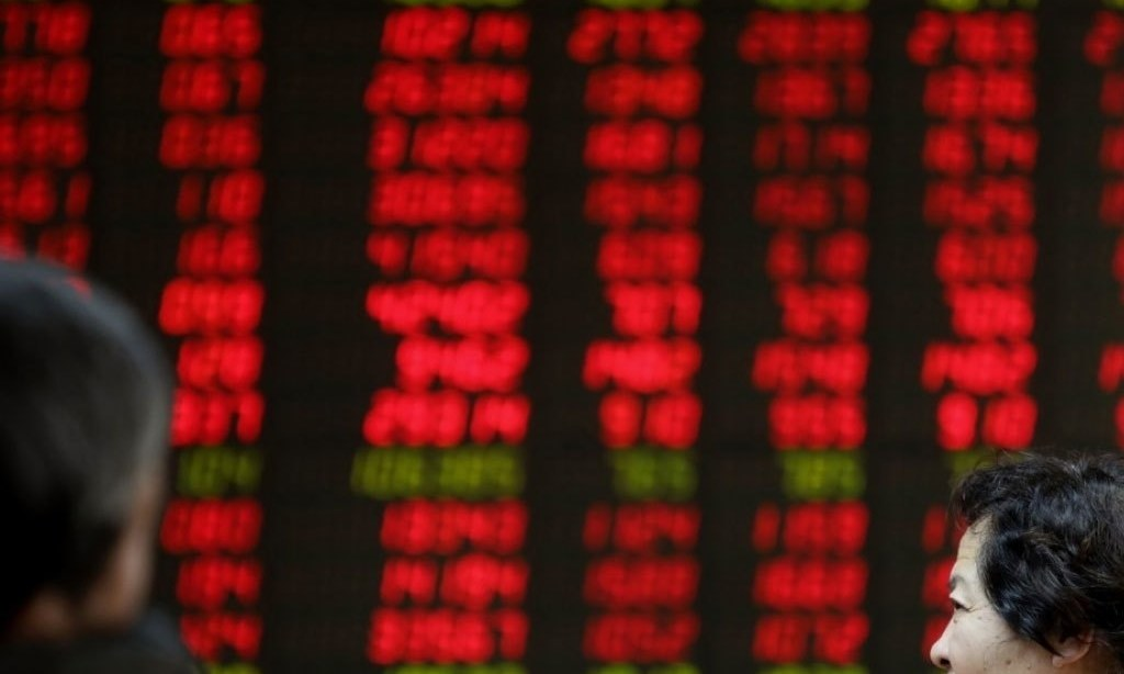 China stocks end lower on Sino-US tensions China stocks end lower on Sino-US tensions