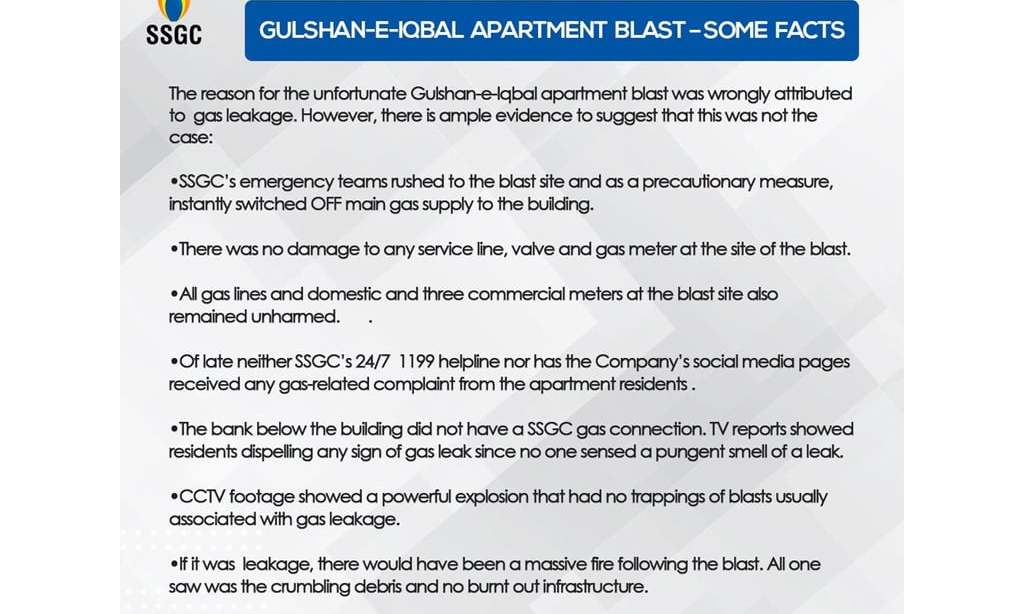 Explosive material used in Karachi's Maskan Chowrangi blast: Report