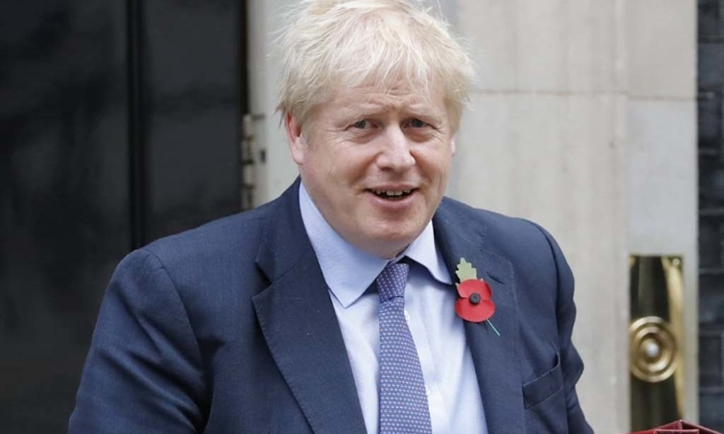 UK's Johnson thanks health workers after COVID vaccine launch