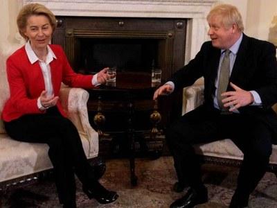 UK-EU strike Northern Ireland pact as Brexit talks near climax