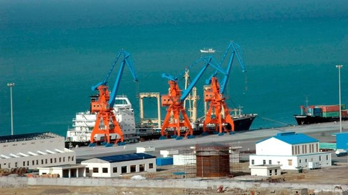 Transit to Afghanistan: 'Strategic Endeavor' carrying fertilizer arrives at Gwadar Port