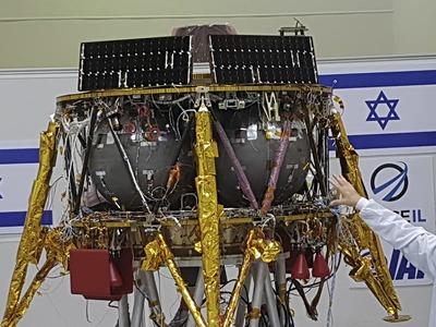Israel plans 2024 moonshot after first unmanned lander crashed