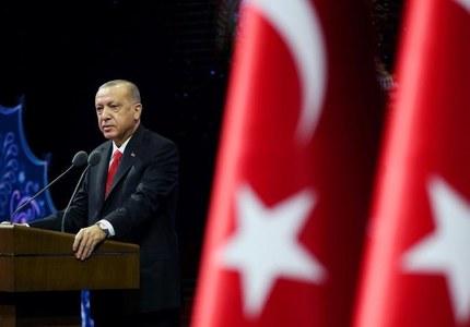 Turkey's Erdogan to discuss U.S. strains when Biden takes office