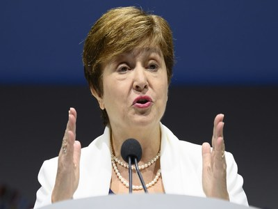 IMF's Georgieva says sees Fund debt freeze for poor countries extended through 2021
