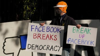 An antitrust lawsuit in US calls for the breakup of Facebook