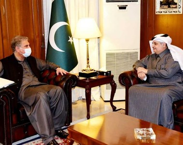FM, Saudi envoy discuss ways to strengthen, intensify mutual engagement between two countries