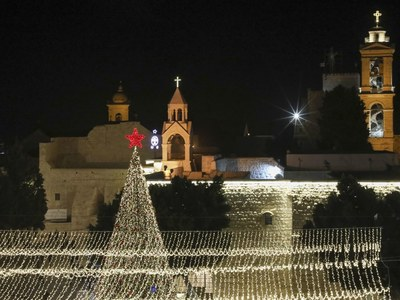 Bethlehem to hold midnight mass without public