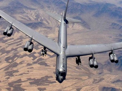 US flies two B-52s over Gulf in message for Iran