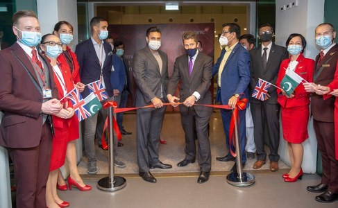 First Virgin Atlantic flight lands in Islamabad