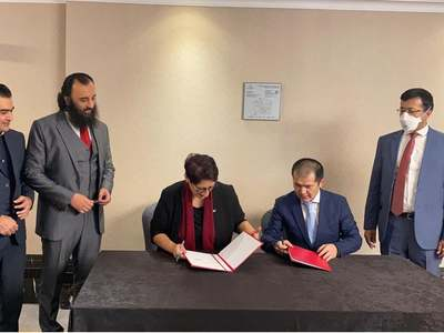 CSSPR signs MoU with Kyrgyz think tank 'RICA'