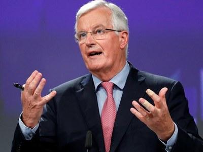 EU's Barnier to brief envoys on Brexit talks on Monday