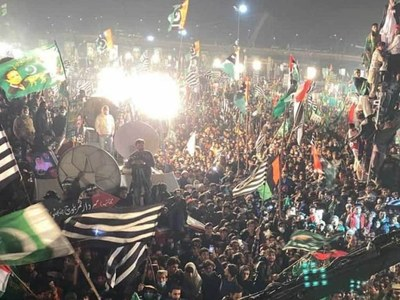 PDM steps up pressure on govt through Lahore rally