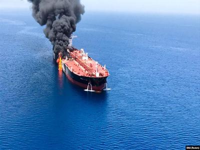 Explosion strikes tanker off Saudi port: maritime sources