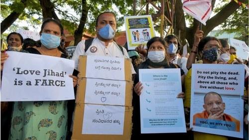 Police in India target Muslims under 'love jihad' law
