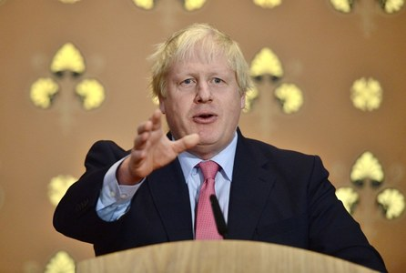 UK's Johnson to visit India in first major trip as PM