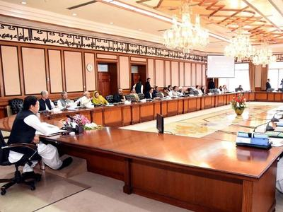 PM chairs meeting of federal cabinet