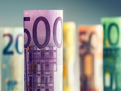 Euro zone bond yields dip as caution returns
