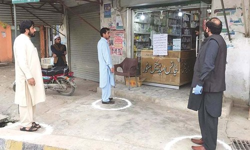 Seven more areas in Peshawar to go under lockdown as COVID-19 positivity rate reaches 13.34%