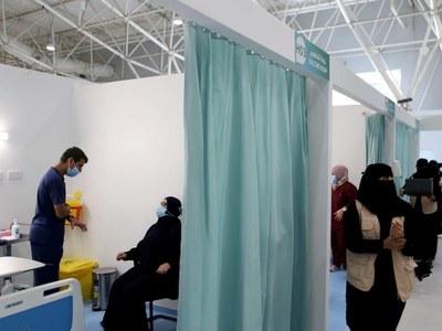 Saudi Arabia begins inoculating people with Pfizer COVID-19 vaccines