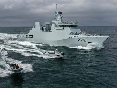 Pakistan Navy inducts state of the art battle ship 'PNS Tabuk'