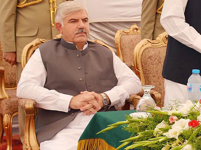 CM chairs high level meeting on developmental projects in Peshawar region