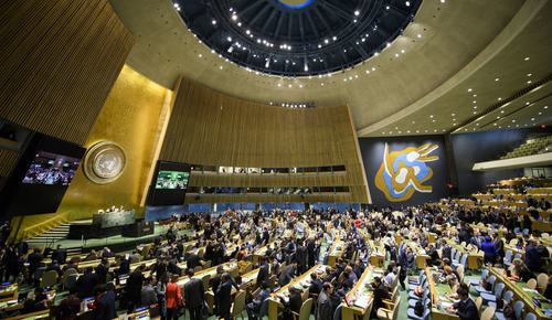 UNGA adopts Pakistan's resolution reaffirming peoples' right to self-determination
