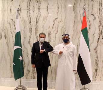 Qureshi, UAE counterpart discuss bilateral relations, Pakistani diaspora's welfare