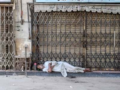 More areas in Peshawar to go under lockdown as city's positivity rate hits 9.3%