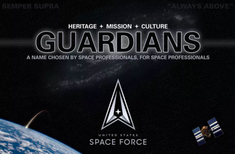Members of the U.S Space Force will now be called 'Guardians'