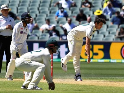 Australia rout India by eight wickets to take 1-0 series lead