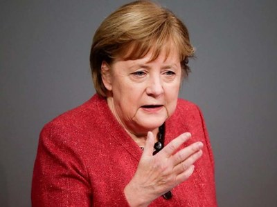 See each other by video call this Christmas, Merkel tells Germans