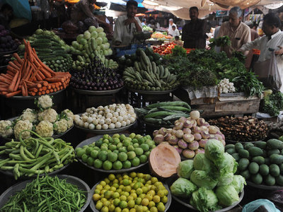 Prices of vegetables reduction from 26 to 77pc in Faisalabad